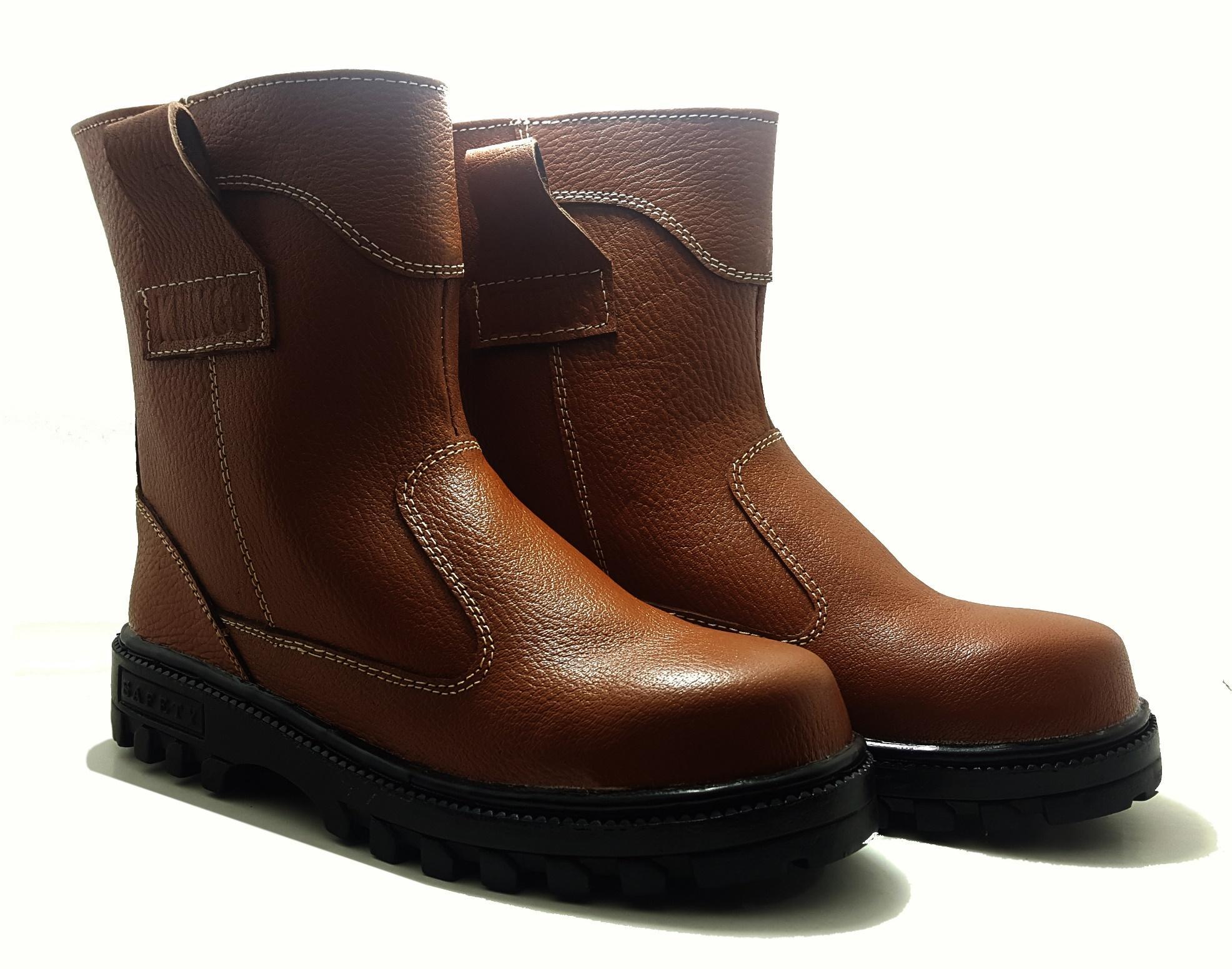 Sepatu Boots Safety Asli Kulit King Arthur d967485195