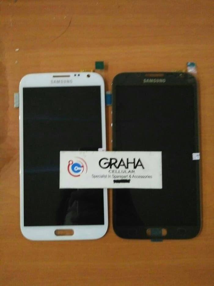 lcd samsung galaxy note 2 n7100 fullset touchscreen original