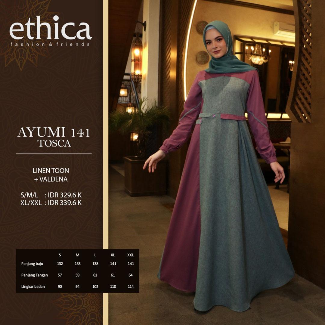 Gamis Ethica Ayumi 141 Membeli Jualan Online Baju Muslim Jumpsuit Dengan Harga Murah Lazada Indonesia