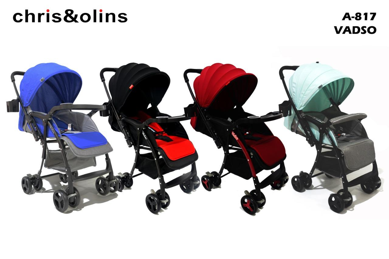 Chris & Olins A817 Vadso Stroller Bayi Kereta Dorong By Vidi_online_shop.
