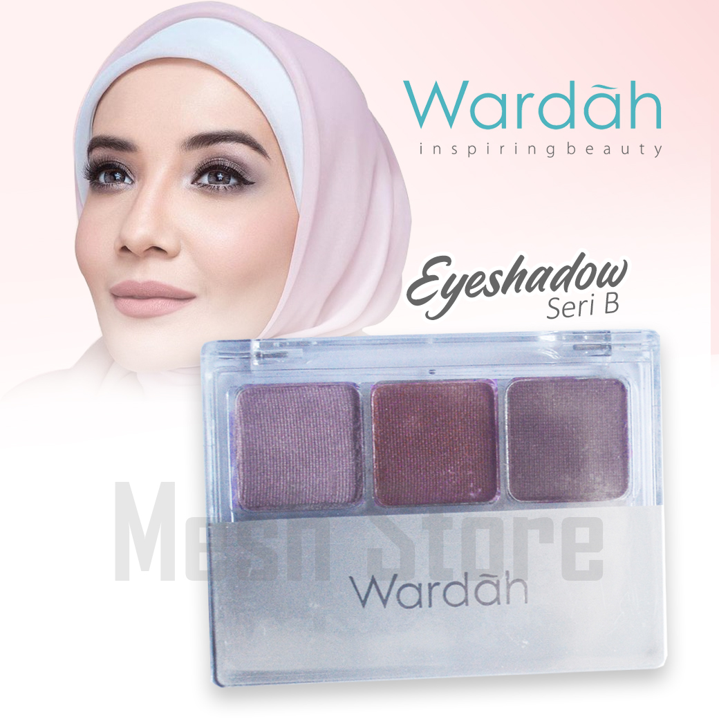 Wardah EyeShadow Seri - B
