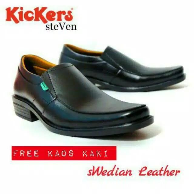 Sepatu Kickers Pantofel Steven Sepatu Formal Pria fb14ea9c5f