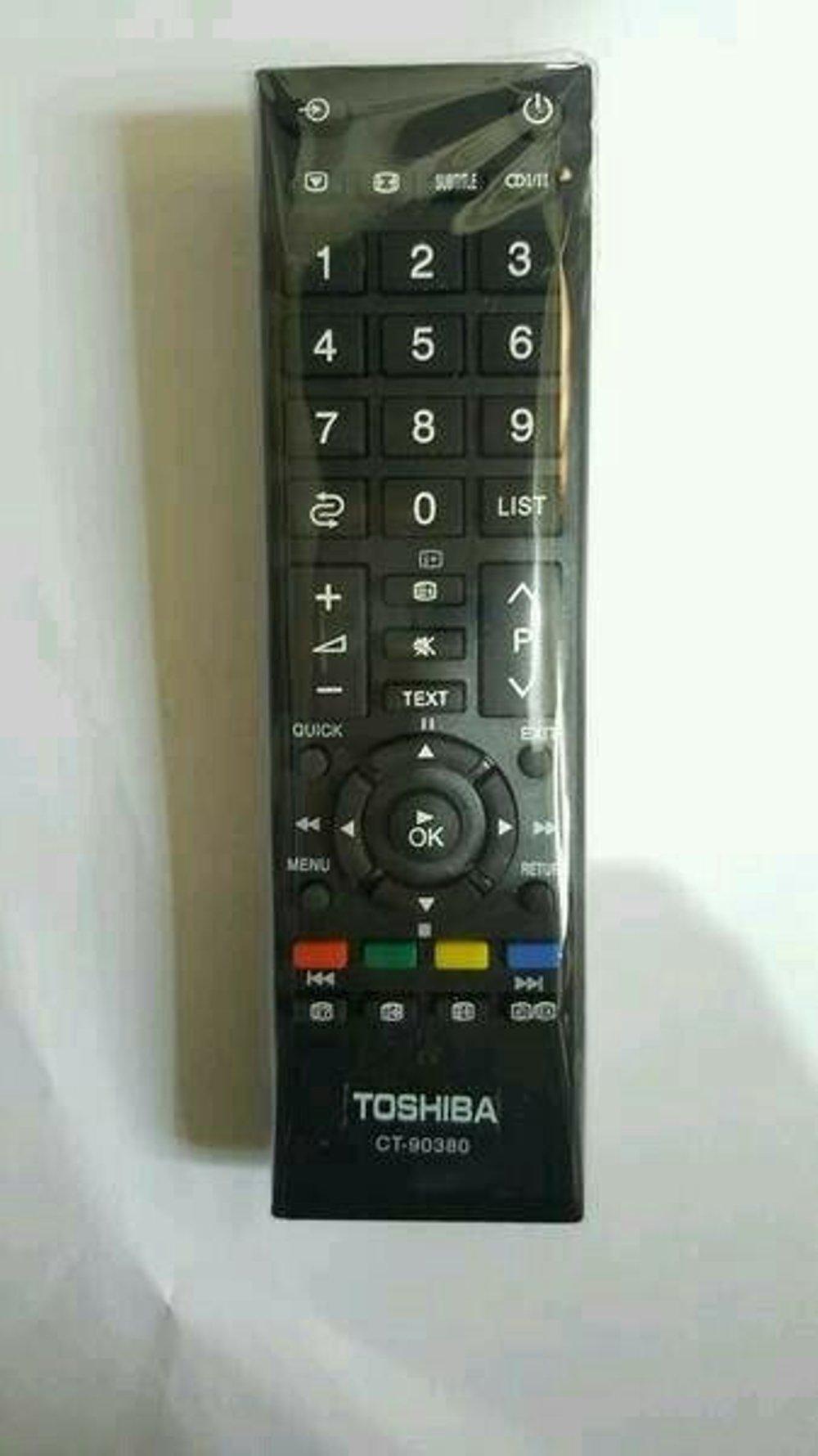 REMOTE CONTROL Remote TV TIVI Toshiba Tosiba Original Asli tabung Lcd Led_SalmanCell