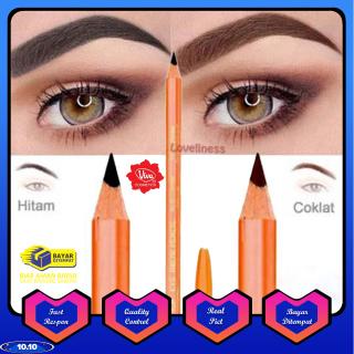 Pensil Alis VIVA Queen Eyebrow Hitam & Coklat thumbnail