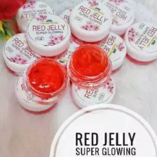 SUPER GLOWING RED JELLY Natural Herbal Original thumbnail