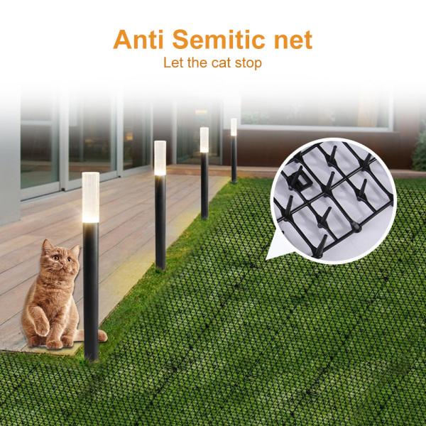 Thảm Mèo Có Sẵn, Lưới Nhựa Ổ Hoa Lưới Mèo Chống-Mèo Xăm Pad Thảm Nhựa Chống Mèo Cho Thú Cưng Động Vật Lái Xe 200Cm * 28Cm