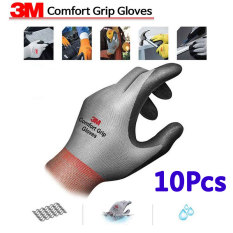 3 M Comfort Grip Work Gloves 10 Pasang M