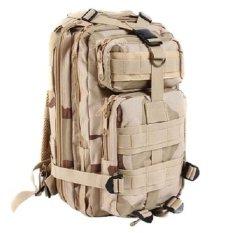 3 P Attack Taktis Militer Ransel Pria & Wanita Tas Perjalanan Luar Ruangan Mountaineering Hiking Backpack