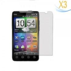 3 Pcs Screen Protector untuk HTC EVO 4g