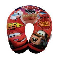 [0960020382] Cars Boneka Bantal Leher - Red