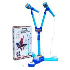 0960090045 | Mainan Anak Mic Karaoke Spiderman Biru