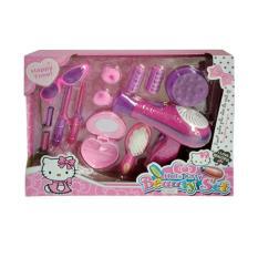 [0960240050] Hello Kitty Beauty Set Rias Hair Dryer Mainan Anak