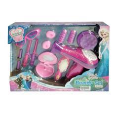 [0960240055] Frozen Beauty Set Rias Hair Dryer Mainan Anak