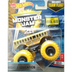 Jual Beli 0960740002 1 Hot Wheels Monster Truck Monster Jam Cool Bus Sch**l Bus Yellow Di Indonesia