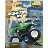 Harga 0960740011 Hot Wheels Monster Truck Monster Jam Jurassic Attack Green Yg Bagus