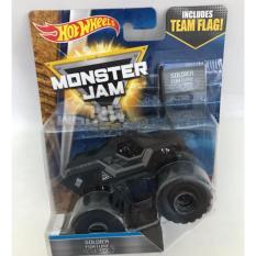 0960740002 3 Hot Wheels Monster Truck Monster Jam Soldier Fortune Black Ops Hitam Hot Wheels Diskon