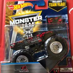 Spek 0960740002 5 Hot Wheels Monster Truck Monster Jam Northern Nightmare 1 64