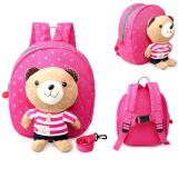 Jual 1 3 Tahun Bayi Keeper Balita Berjalan Keselamatan Memanfaatkan Bear Backpack Strap Bag Merah Oem Online