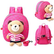 Tips Beli 1 3 Tahun Bayi Keeper Balita Berjalan Keselamatan Memanfaatkan Bear Backpack Strap Bag Merah