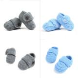 Beli 1 Biru 1 Abu Abu Anak Manis Bayi Bayi Boks Merenda Sepatu Buatan Tangan Kasual Non Slip Merajut Kaus Kaki Intl Murah Tiongkok