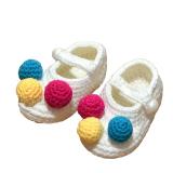 Tips Beli 1 Pasang Sepatu Bayi Rajutan Wol Buatan Tangan Bayi Sepatu Bayi Untuk Yang Baru Lahir 12 Bulan Bayi Putih 10 97 M
