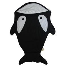 Harga 1 Pc Baby Sleeping Bag Cute Cartoon Shark Winter Kid Sleep Sack Infant Warm Swaddle Black Intl Branded