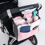 Spesifikasi Haotom 1 Pink Multifungsi Waterproof Baby Stroller Organizer Stroller Penyimpanan Wadah Sambil Menyimpan Merapikan Tas Dan Harganya