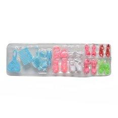 1 Set Blister Mainan untuk Barbie Sepatu Plastik Meja Rias Anak-anak Toys untuk Barbie-Internasional