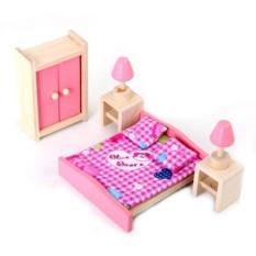 1 Set Rumah Boneka Furniture Anak Mainan Kamar Tidur-Internasional