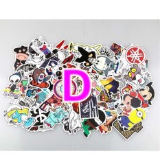 100 Pcs Stiker Skateboard Grafiti Stiker Laptop Bagasi Dekal Mobil Mix Lot-Intl By Habuy.