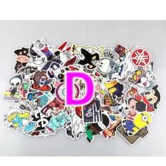100 Pcs Stiker Skateboard Grafiti Stiker Laptop Bagasi Dekal Mobil Mix Lot-Intl By Habuy.