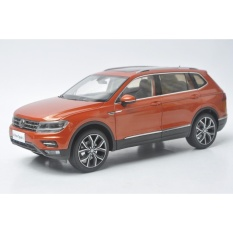 1/18 Scale Diecast Model Car for Volkswagen VW Tiguan L 2017 SUV Red Alloy Toy Car - intl