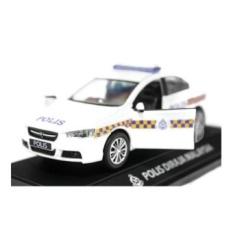1:32 scale Proton Inspira Polis Police Diraja Malaysia Pdrm 189 Diecast Blue (White) - intl