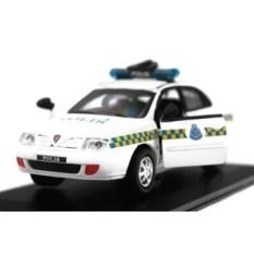 1:32 scale Proton Waja Polis Police Diraja Malaysia Pdrm 209 Diecast Car (White) - intl