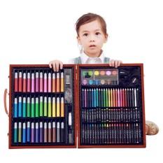 150 Pcs Profesional Art Drawing Painting Set Siswa Warna Sketsa Pensil Siswa Anak Artis Sketsa Kit Menggambar Alat Dengan Case By Lees Fashion Stroe.