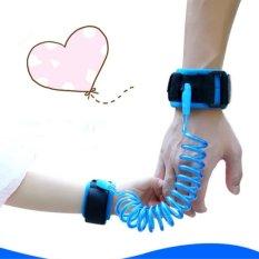 1.5 M Adjustable Kids Safety Anti Hilang Wrist Link Band Gelang Anak Gelang Bayi Balita Memanfaatkan Tali Strap- INTL