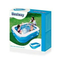Tips Beli 17000330 Bestway Kolam Renang Anak Kotak Polos 54005