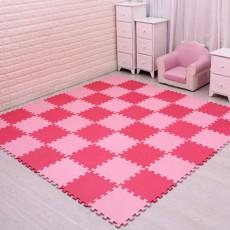 18 Pcs Bayi EVA Busa Bermain Tikar Puzzle Saling Latihan Ubin Permadani Karpet Lantai untuk Anak