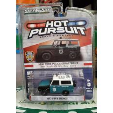 1967 Ford Bronco NYPD Greenlight Police Hot Pursuit - B6fvpl