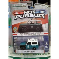 1967 Ford Bronco Nypd Greenlight Police Hot Pursuit - Ibpmtp