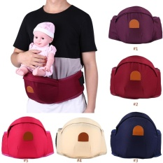 1 PC Adjustable Bayi Balita Front Carrier Walkers Bayi Sabuk Pinggang Menahan Hip Kursi (#2 Burgundy)
