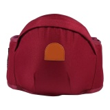 Ulasan 1 Pc Adjustable Bayi Balita Front Carrier Walkers Bayi Sabuk Pinggang Tahan Hip Kursi 2 Burgundy Intl