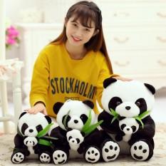 1 Pcs Lucu Lembut Sitting Mother dan Bayi Panda Anak Anak Boneka Boneka Boneka Boneka Gaya: duduk Tinggi Tinggi: 20 Cm Keberuntungan-G-Internasional