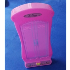 1pcs Pink Cute Fashion Barbie Princess Girl Doll House Wardrobe Bedroom Furniture Toy - intl