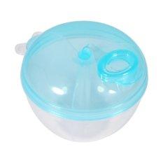 Toko 1Pcs Portable Milk Powder Formula Dispenser Baby Kids Storage Feedeing Containers Toddler Box Case Blue Intl Oem Tiongkok