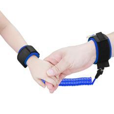 Tips Beli 2 5 Meter Toptem Bayi Anak Anti Kehilangan Hook Loop Fastener Wrist Link Rope Band Tali Sabuk Untuk 1 12 Tahun Anak Anak Biru