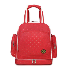2016 Hot 300D Waterproof Oxford 230D Large Capacity Diaper Bag Backpack Mother Maternity Nappy Baby Bags For Mom Backpacks For Travel Red - intl