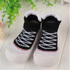 2016 Hot Jual Tinggi Desain Baby Boy GIRL Sepatu Lembut dan Nyaman Anak-anak Pertama Walker Balita Sepatu Moccasins Harga Pabrik Hitam-Intl