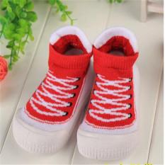 2016 Hot Jual Tinggi Desain Baby Boy GIRL Sepatu Lembut dan Nyaman Anak-anak Pertama Walker Balita Sepatu Moccasins Harga Pabrik Merah-Intl