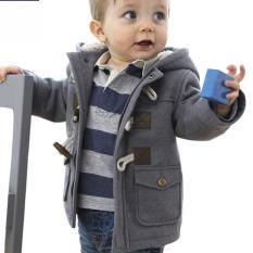 Jual Beli Online Jaket Bayi Laki Laki 2 Warna Untuk Musim Dingin Abu Abu